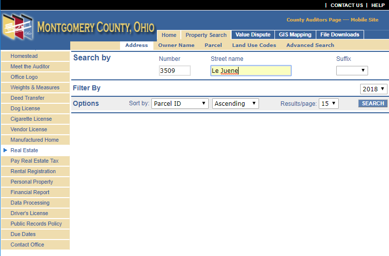Montgomery County Auditor Search